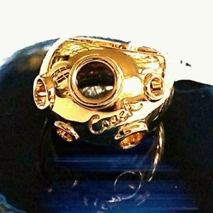 🆕️ NWT Coach High Polished Gold Tone Dome  Ring